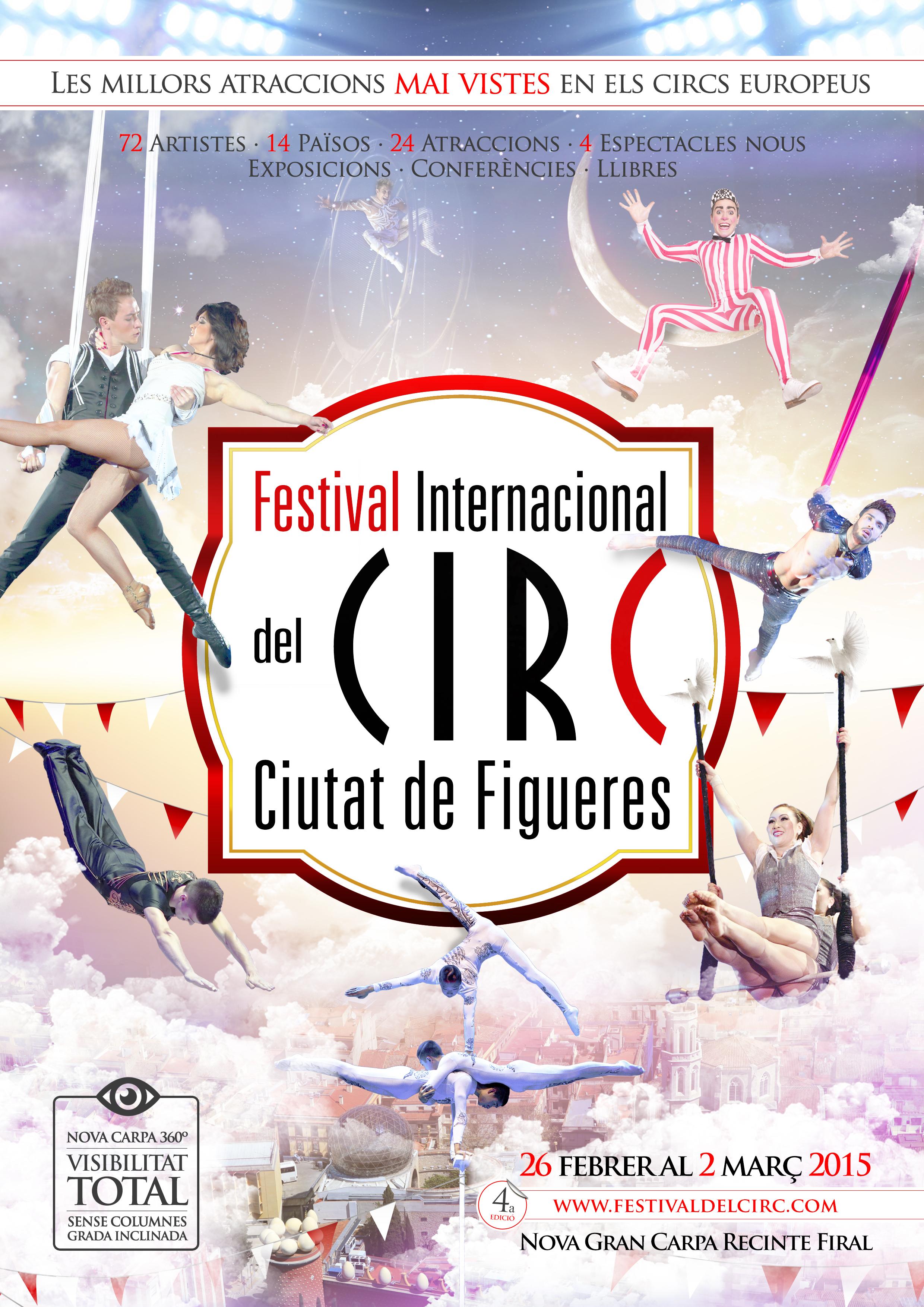 FESTIVAL CIRC CIUTAT DE FIGUERES 2015