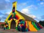 MILESTONE PROJECT 2017 Okuda San Miguel - Treball Mirages to Freedom a Youssoufia, Marroc
